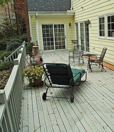 Prepare Deck for Winter - Fall Home Maintenance Tips