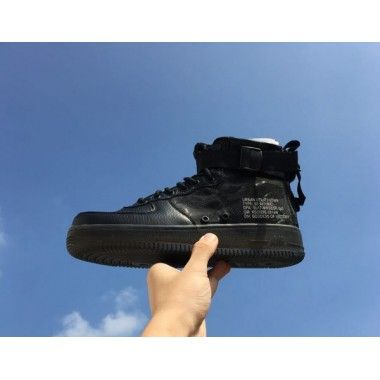 pretty nice 62a0c 163cb Nike Special Field Air Force 1 Mid Black Black Gum Light Brown AA7345-001