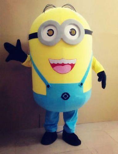 Minions-Despicable-Me-Mascot-Costume-EPE-Fancy-Dress-Outfit-Adult & Minions-Despicable-Me-Mascot-Costume-EPE-Fancy-Dress-Outfit-Adult ...
