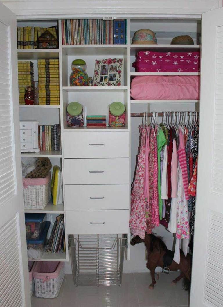 Cute Small Closet Ideas Kids Clothes Storage Closet Storage