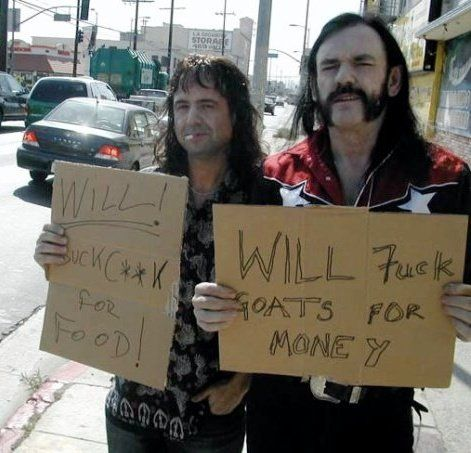 Phil Campbell and Lemmy