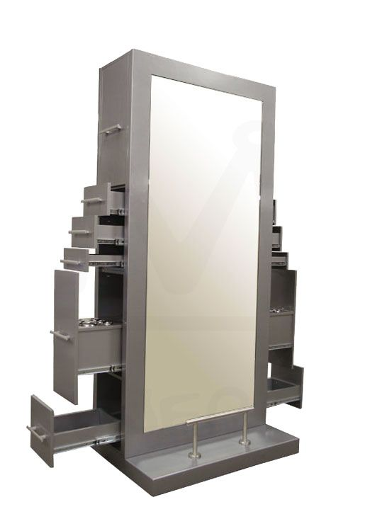 Genesis Ii Double Sided Styling Station In Platinum
