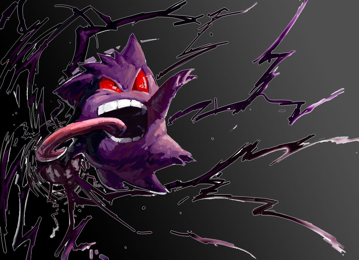Wallpaper for your desktop s wallpaper gengar wallpaper high - Shiny Mega Gengar Wallpaper 1920 1080 Gengar Wallpaper 37 Wallpapers Adorable Wallpapers