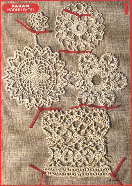 Crochet Lace Patternsivelise Feito Mo Lindos Motivos De Croch
