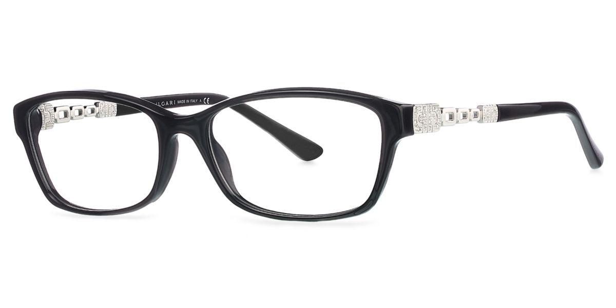 Frames | Women\'s Bvlgari Parentesi Cat Eye Glasses in Black ...