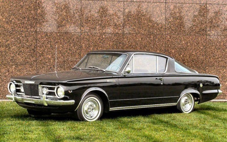 1964 plymouth barracuda - My Dad had a silver one with a red