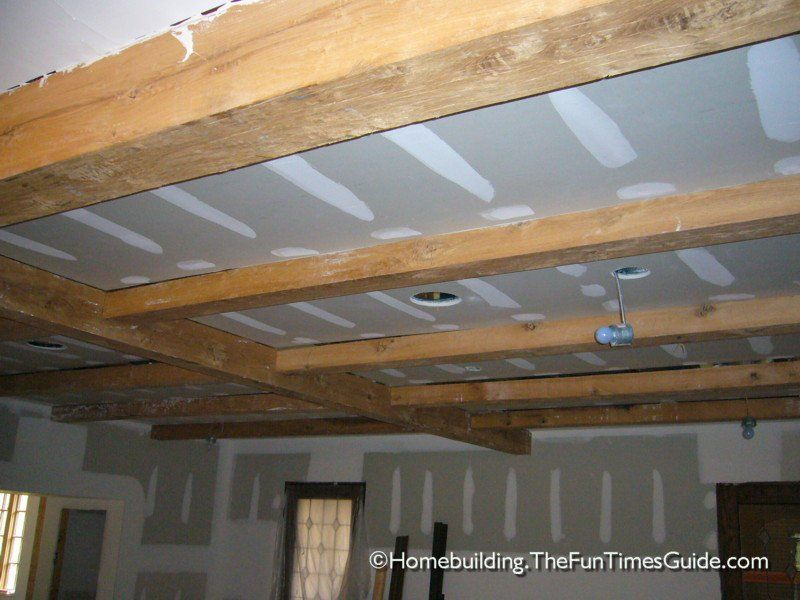 Framing A Basement Ceiling For Drywall Exposed Beam Ceiling Basement Remodeling Framing A Basement Diy Home Interior