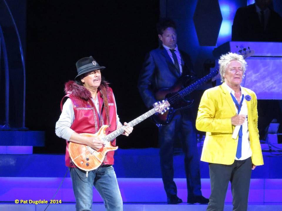 Rod and Carlos Santana 2014 - Louisville, KY