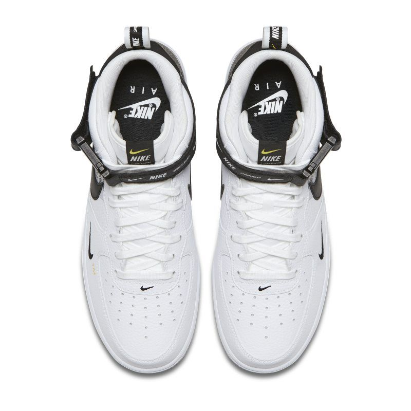 nike air force 1 07 mid white sneakers