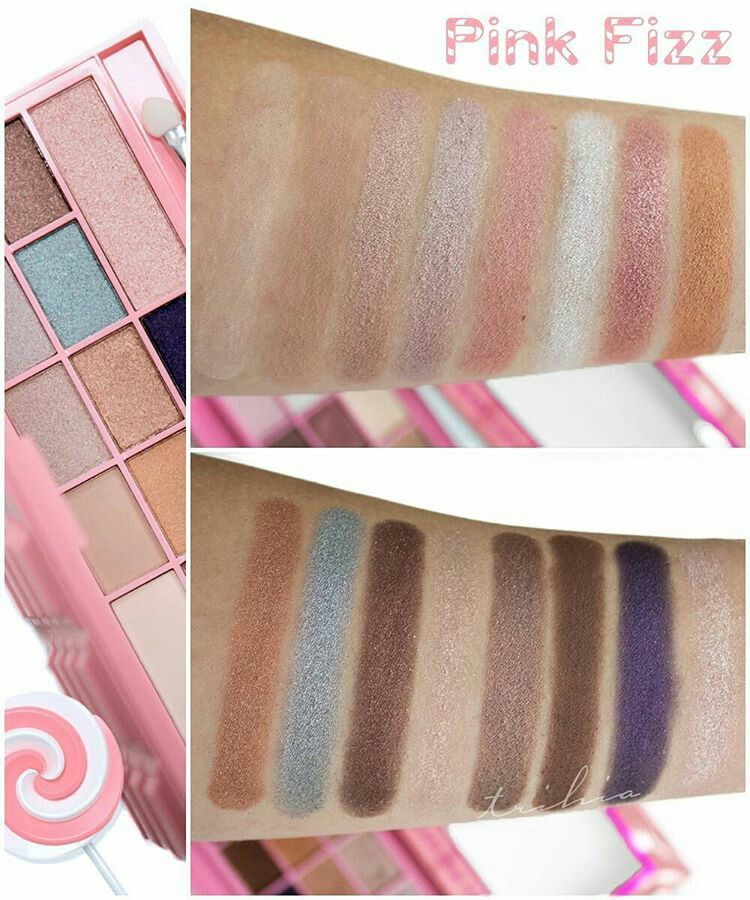 Pink Fizz swatches Makeup revolution, Fizz, Makeup