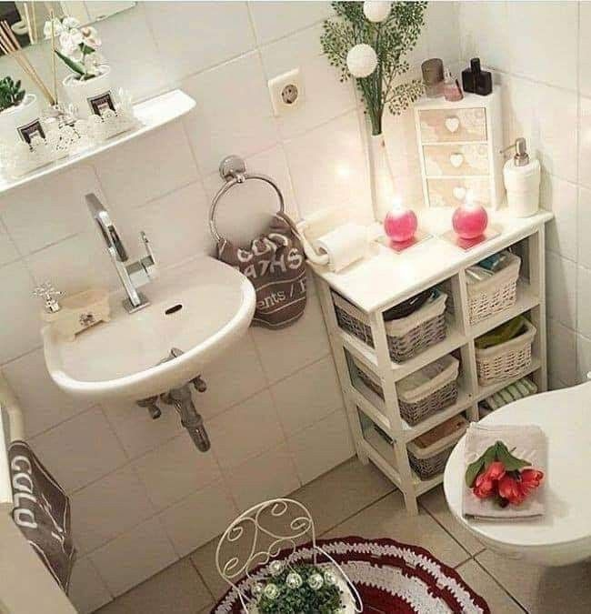 Organización   Decoracion de baños pequeños, Ideas de ...
