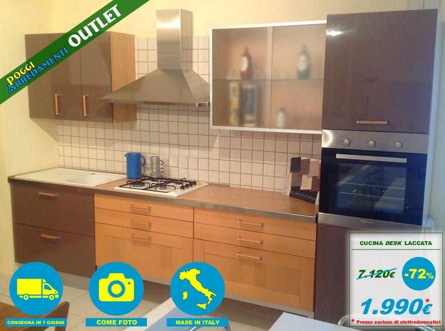 Cucina moderna a soli € 1.990 #PoggiArredamentiOutlet - l\' #outlet ...