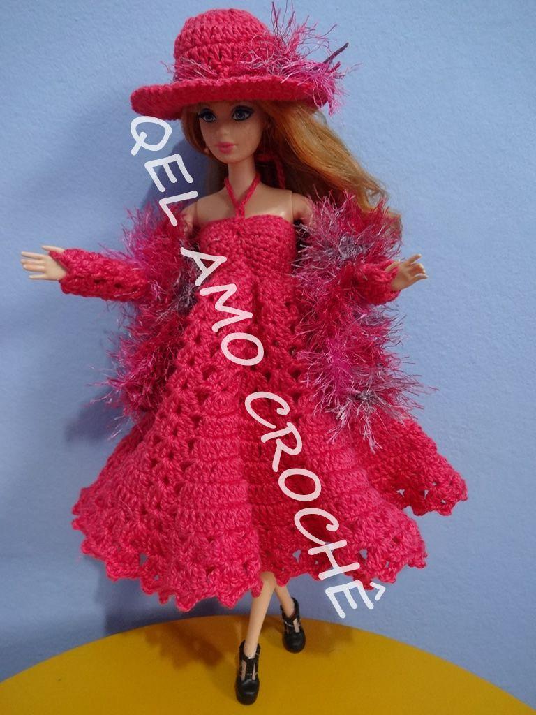 Pin de Nina Riggs #1 en Crochet ~ Barbie Doll Clothes & Misc ...