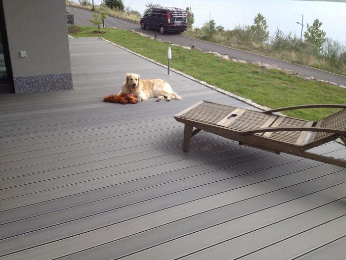 Wpc Terrassen Sichtschutz Impressionen Balkonboden