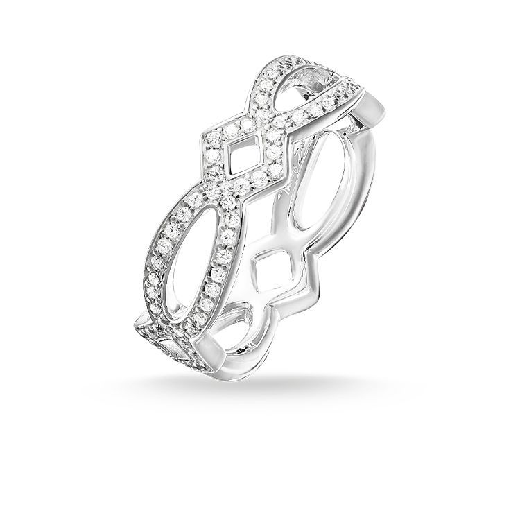 Thomas Sabo Ring From The Sterling Silver Collection Inspired By