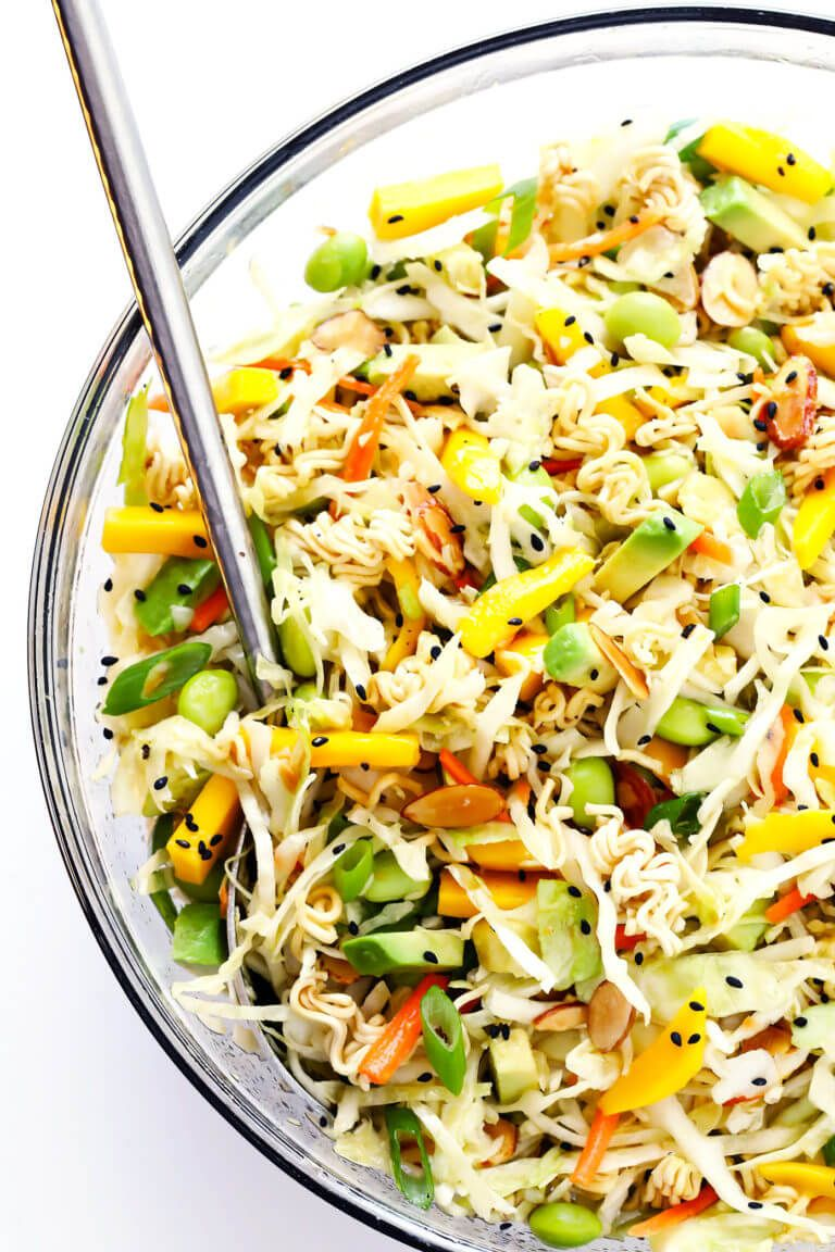 Crunchy Asian Ramen Noodle Salad A K A Basically The Best