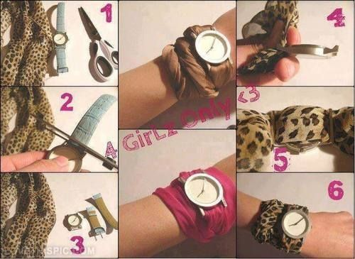 Diy Watch Band Cute Band Watch Creative Diy Crafts Diy Ideas Diy
