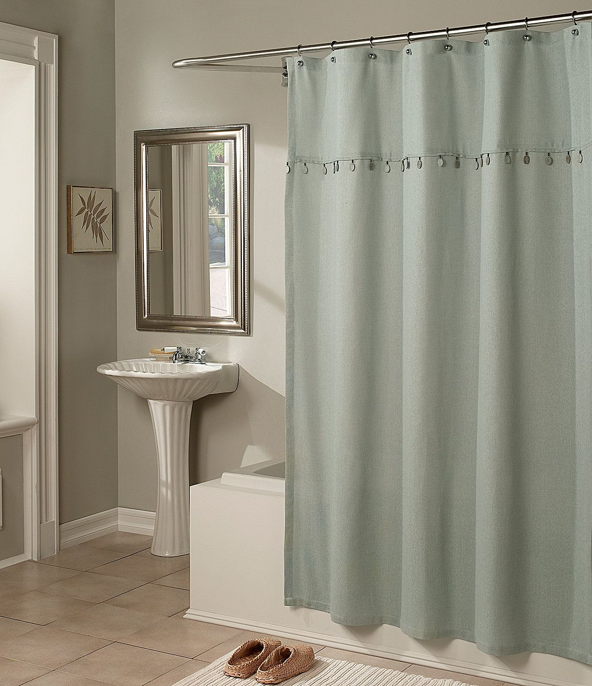 M Style Chelsea Shower Curtain Dillards Com Curtains Shower