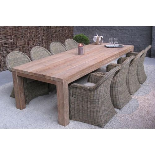 Table de jardin tek - A vendre | 2ememain.be