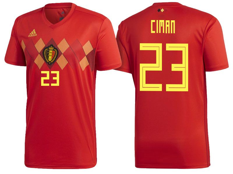 8dee977bc 2018 Belgium World Cup Authentic Jersey  23
