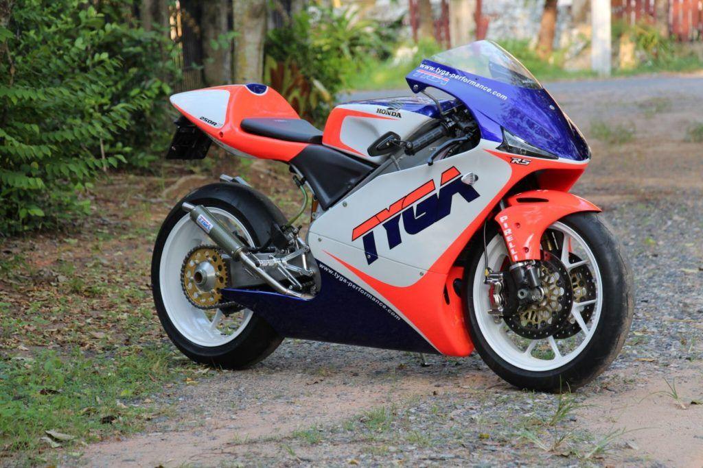 TYGA's Honda RS250R project. Grand Prix RACE bike for the
