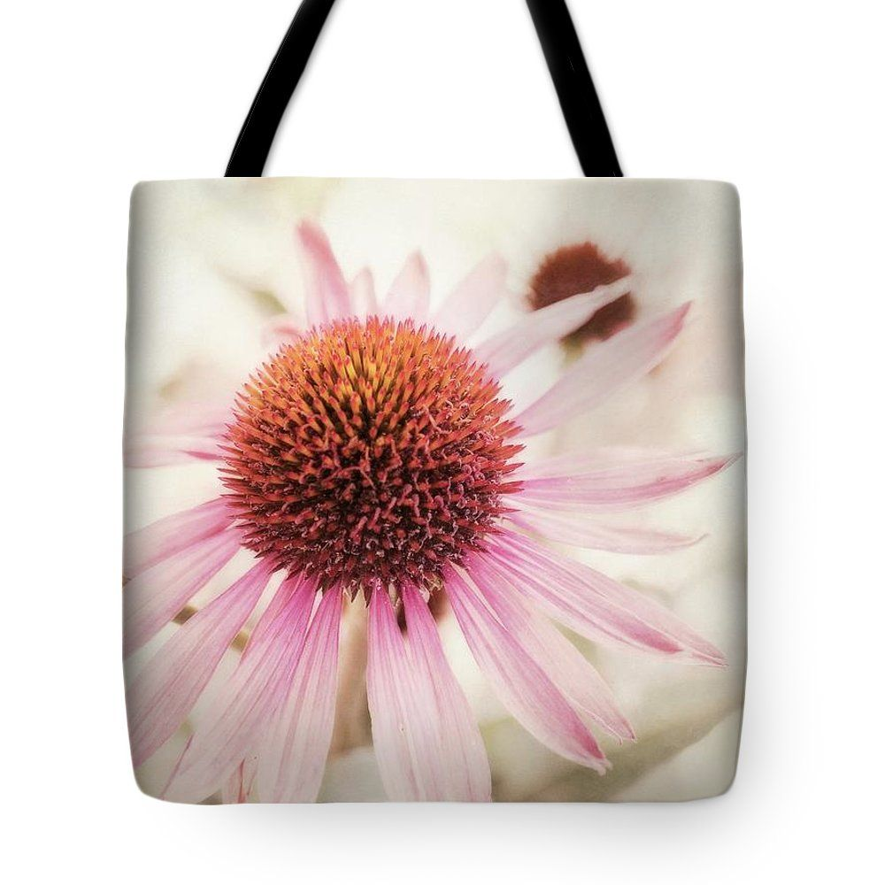 Echinacea Purpurea Tote Bag featuring the photograph Echinacea by Priska Wettstein