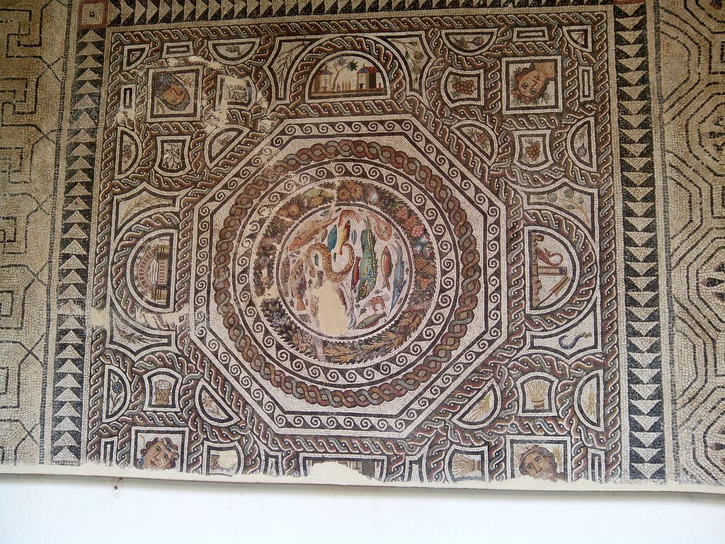 Museo De Santa Cruz.Museo De Santa Cruz Mosaic