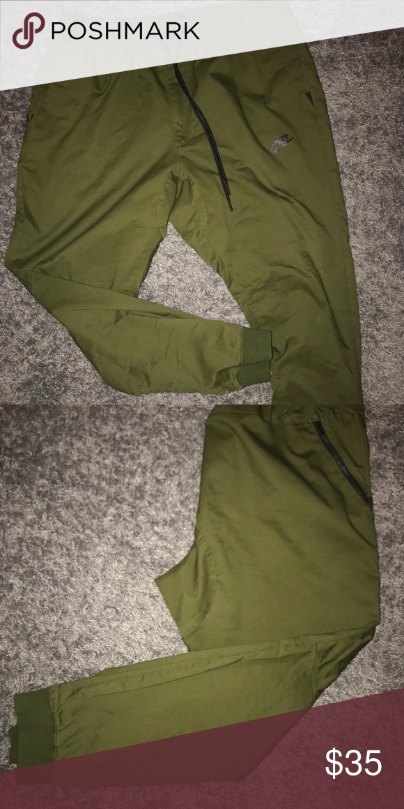 low priced 939be 34ea5 Nike Sportswear Modern Joggers (Olive) Selling a pair of Nike joggers! Worn  once. Size XL and the color is olive green  ) Nike Pants Sweatpants    Joggers