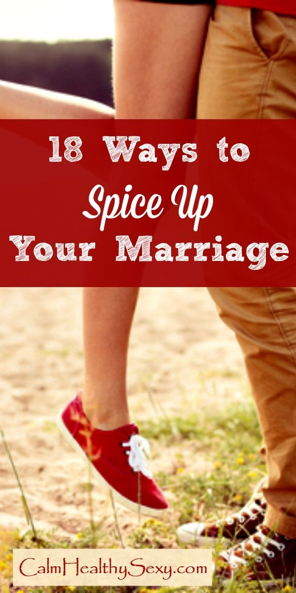 Fun ways to spice up your sex life