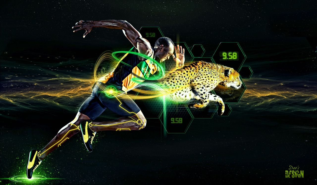 Usain Bolt Wallpaper Puma Running Speed | Wallpaper ...