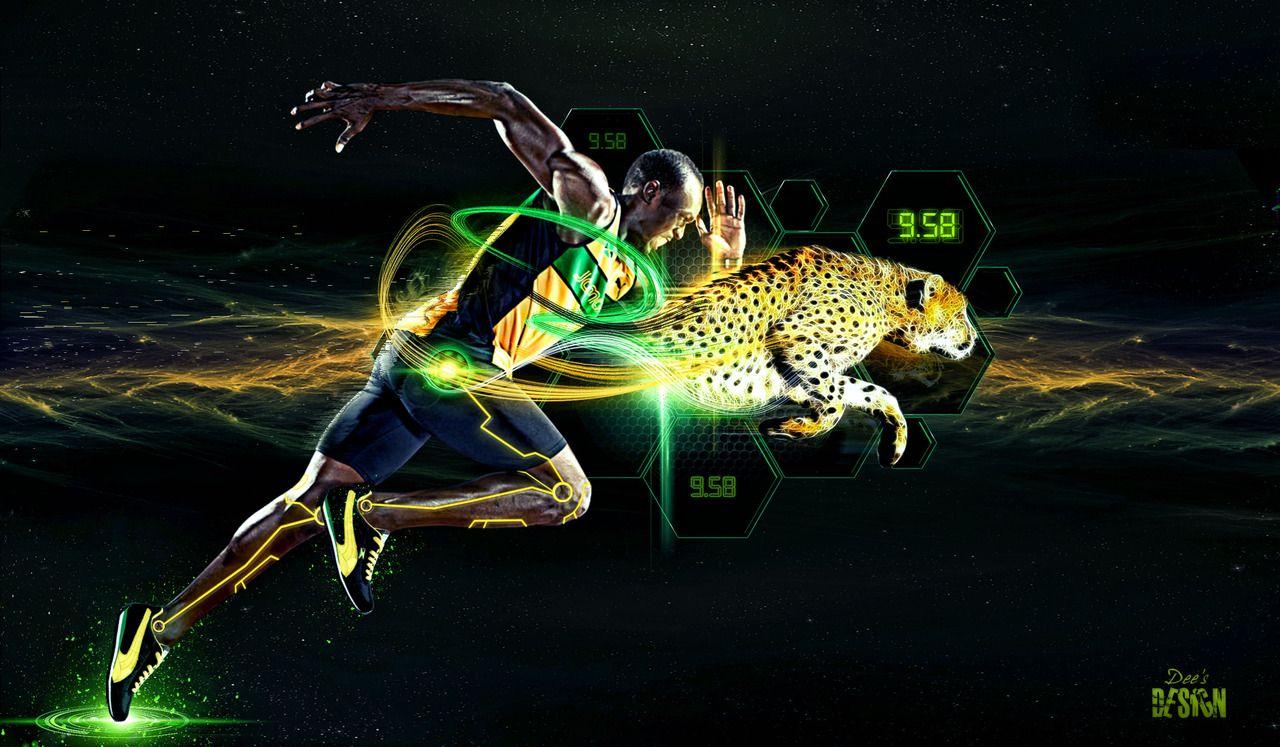 Usain Bolt Wallpaper Puma Running Speed Usain bolt, Best