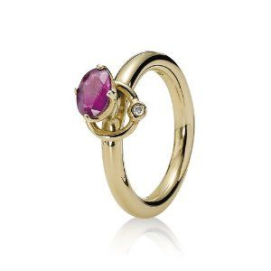 Pandora 150143RHL-56 - Anillo de mujer de oro amarillo (14k) - http://www.wonderfulworldofjewelry.com/jewelry/pandora-150143rhl56-anillo-de-mujer-de-oro-amarillo-14k-es/ - Your First Choice for Jewelry and Jewellery Accessories