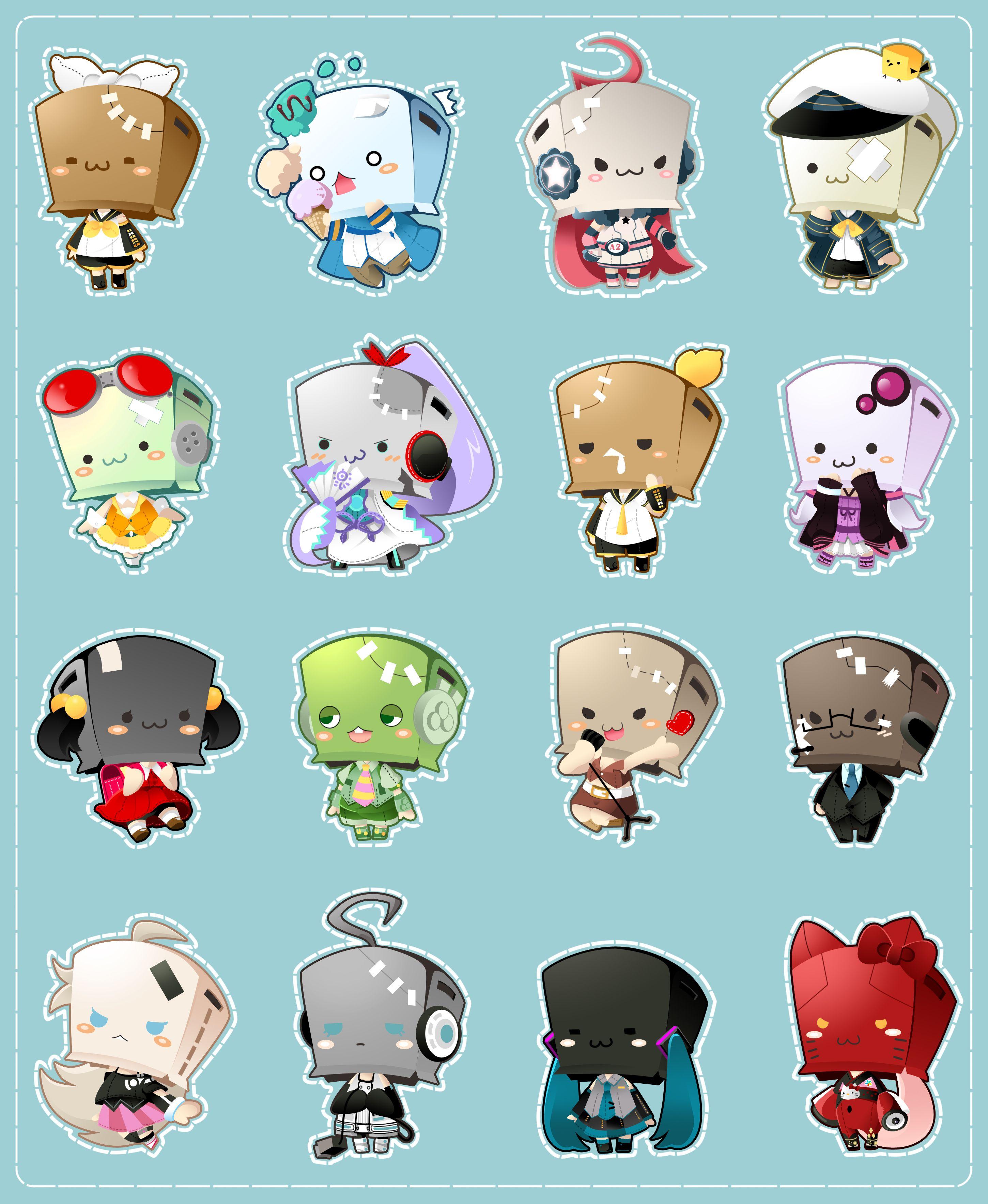 Tags: Hatsune Miku, Vocaloid, Kagamine Rin, Kagamine Len, KAITO, MEIKO (Vocaloid), Kamui Gakupo, GUMI, Miki, Hiyama Kiyoteru, Kaai Yuki, Bridget00747, Nekomura Iroha, Ryuto, Utatane Piko, Oliver (Vocaloid), Yuzuki Yukari, IA, Voiceroid