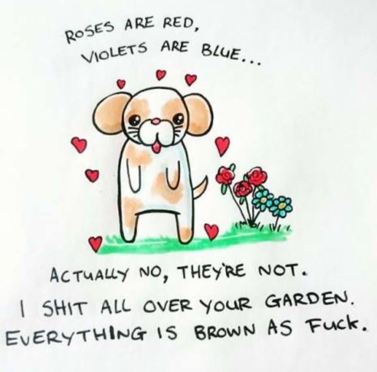 Pin by matt nance on funny but youve been warned pinterest these are rough sketchbook doodles i did of cute greeting card style illustrations with offensive words in my handwriting kristyandbryce Image collections