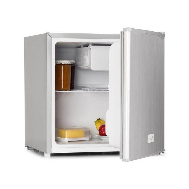 Minibar fridge 40 liter ice compartment stainless steel »50L1-SG«