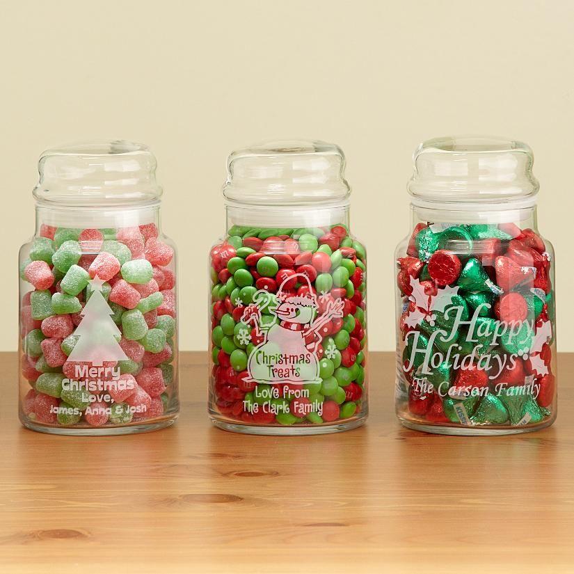 Christmas Jars Christmas Treat Jars Christmas Treats Jars Christmas Candy Jars Christmas Jars