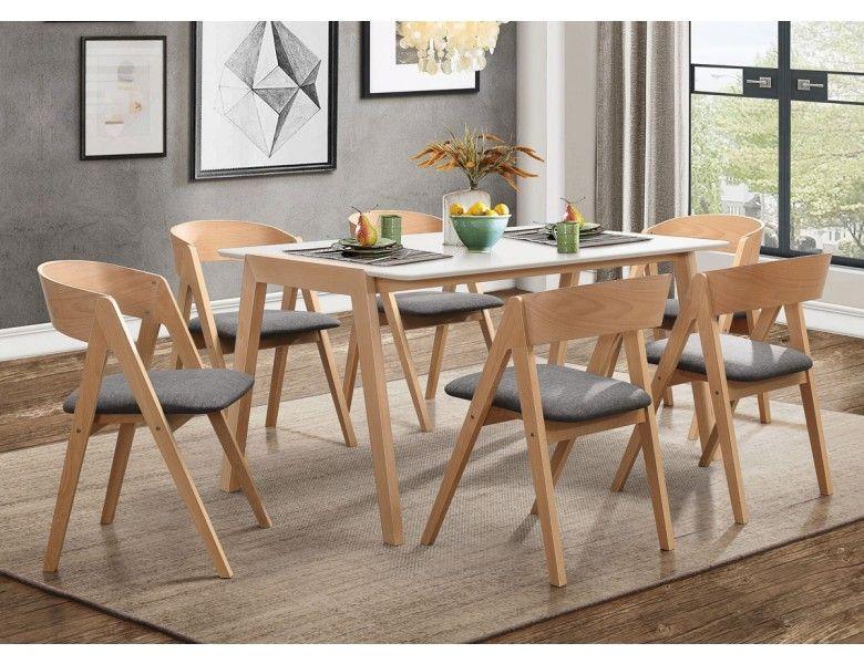 Taurean Modern Dining Table Set Midcentury Modern Dining Table