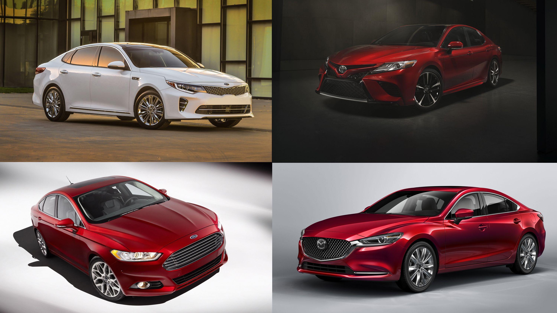 Top 10 Family Sedans Ranked From Worst To Best Sedan