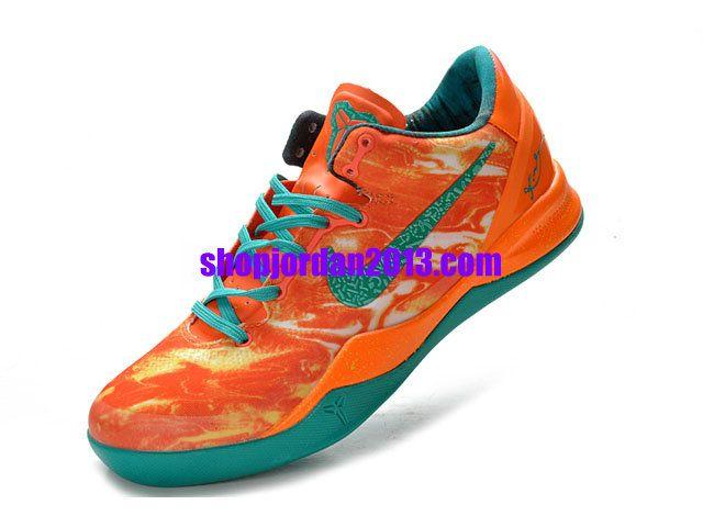 sports shoes 14d19 22efb Nike Kobe 8 Elite Lifestyle Orange Jade Kobe Bryant Shoes  Orange  Womens   Sneakers