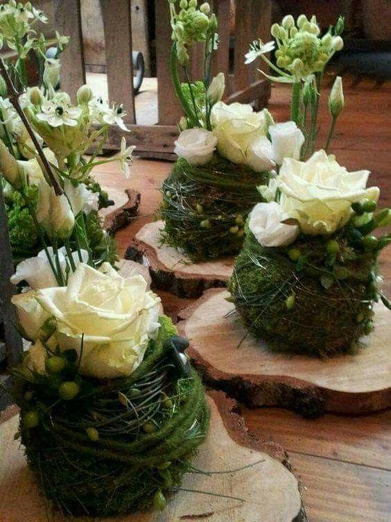 Tischdeko Geburtstag  Blumen  Tischdekoration geburtstag Tischdeko blumen und Blumendeko