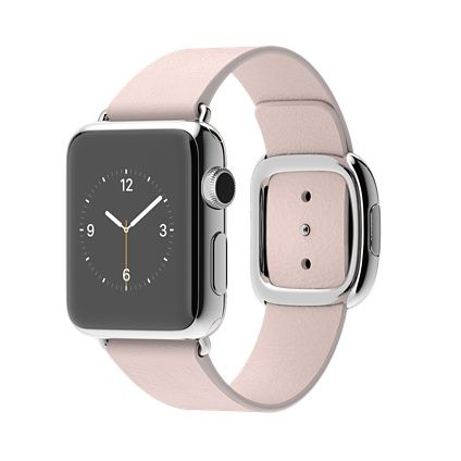 Why Oh Why So Expensive Apple Watch 38mm Stainless Steel Case With Soft Pink Modern Buckle