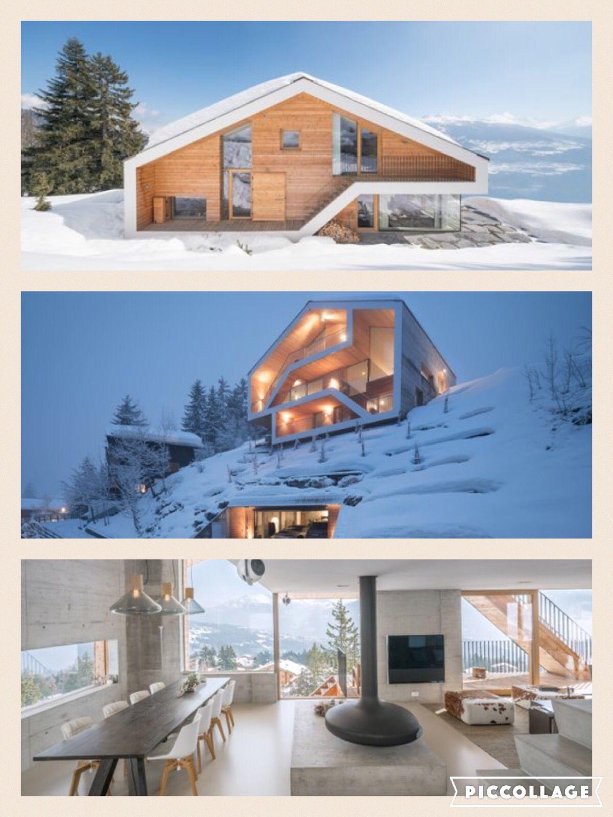 Swiss House Modern Alpine In 2018 Pinterest Maison