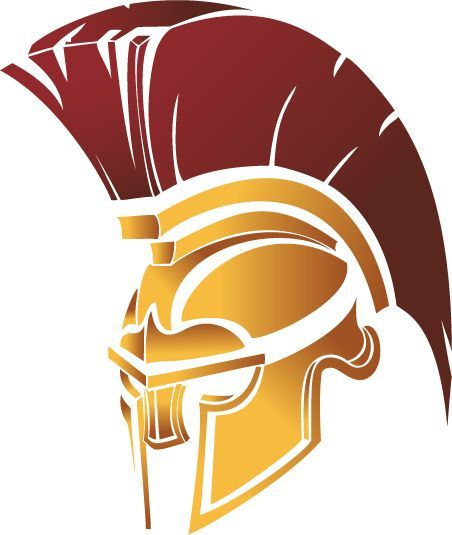 Image result for image of a spartan head