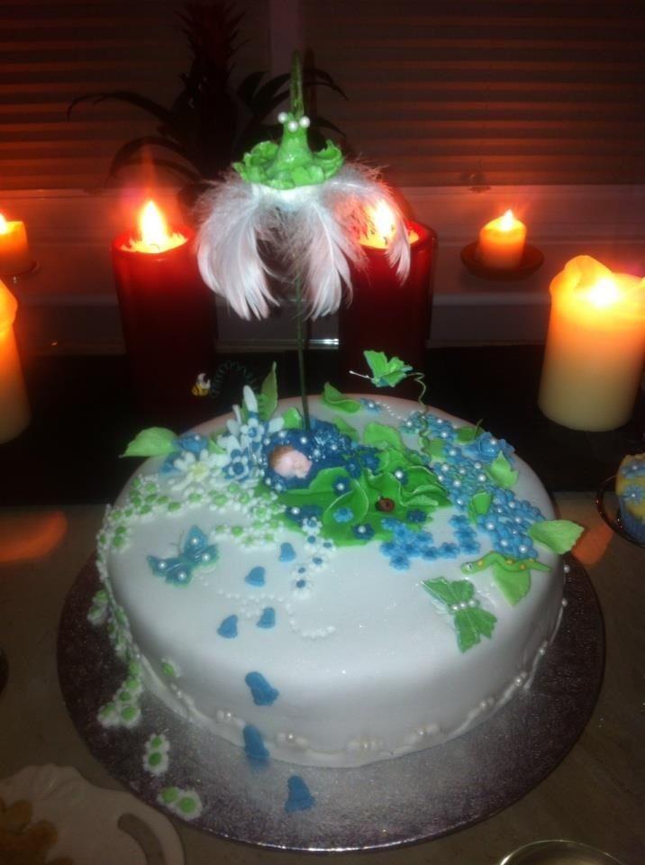 Katie's Baby Shower Cake 23/01/2012