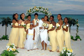 Barefoot Weddings will customize your beach wedding decorations to ...