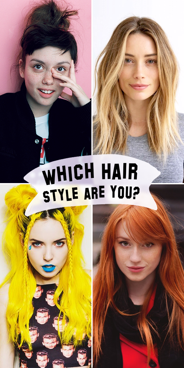 Take this fun quiz to find out what hair style fits your ...