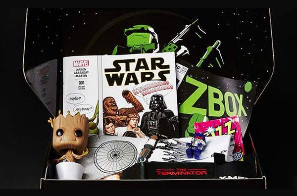 Zbox | Geek/Nerd/Gamer Subscription Boxes | Monthly