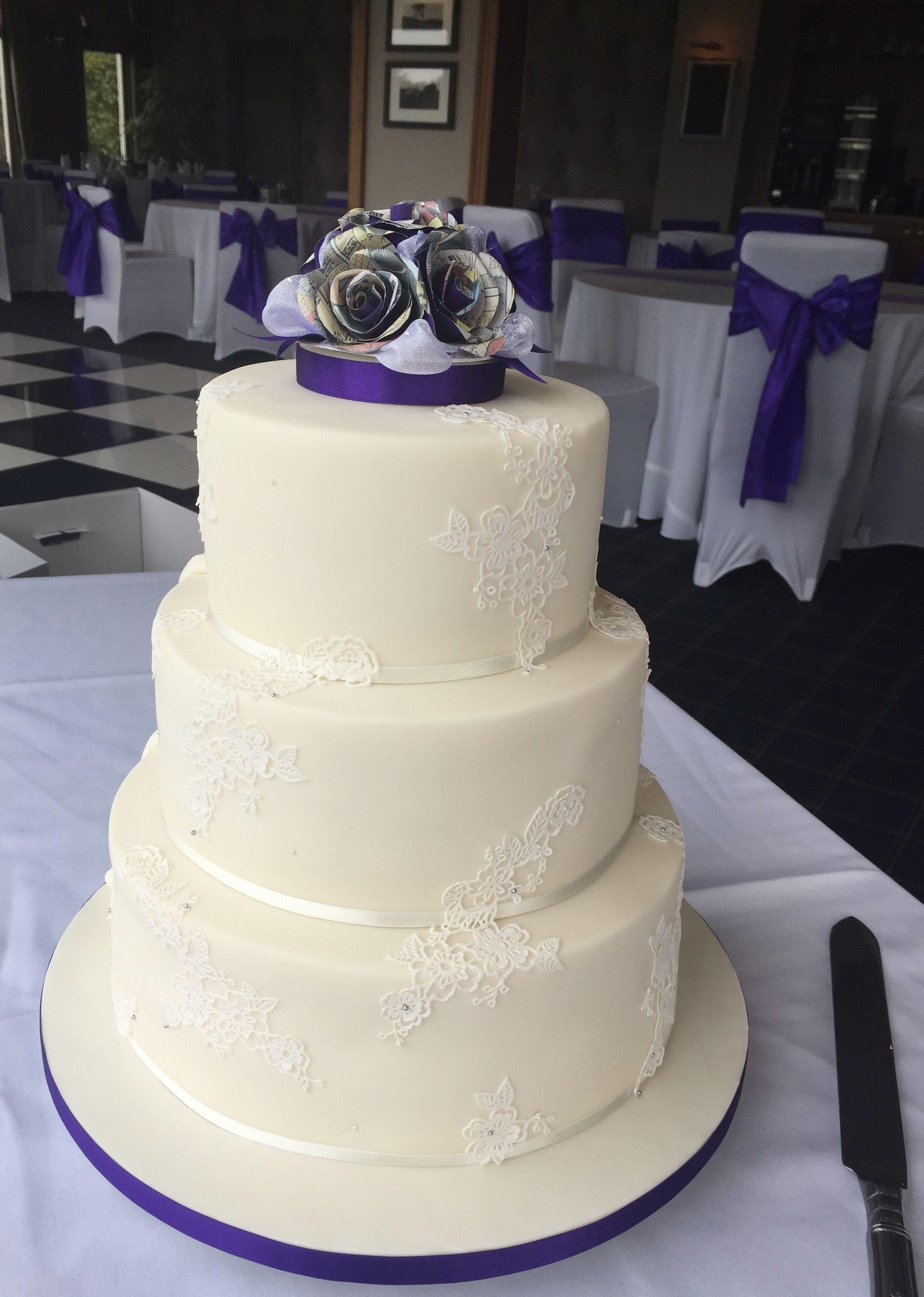 Reveal cake, Batman & Marvel themed wedding cake | Bake A Memory ...