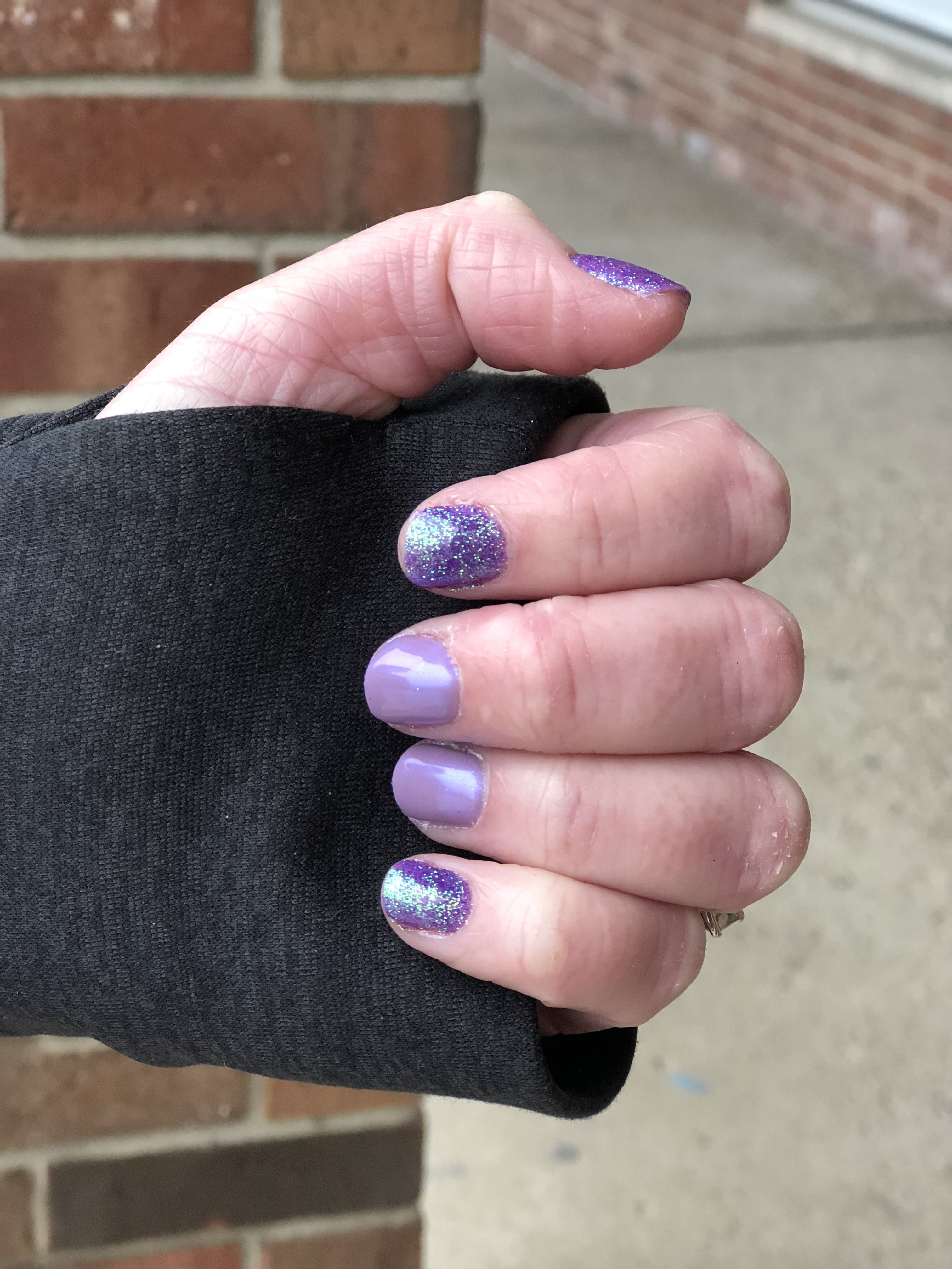 Mermaid manicure by Ana at Transformations Salon and Spa ...