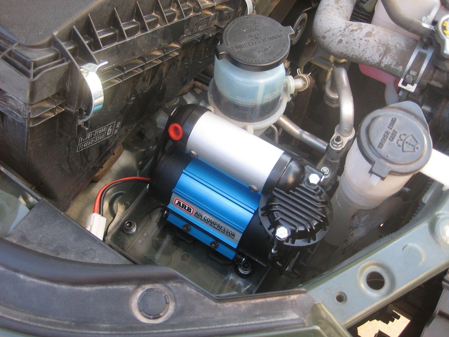 ARB CKMA12 Air Compressor Install Toyota FJ Cruiser